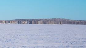 Strange new island or mere mirage? Border patrol tweets phenomenal PHOTO