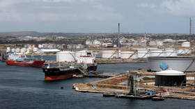 Half-billion dollars' worth of sanctioned oil sitting offshore Venezuela