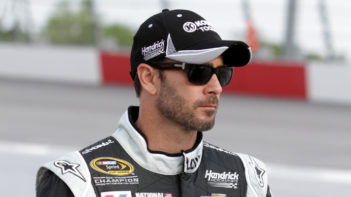 Jimmie Johnson (AFP Photo / Jerry Markland)