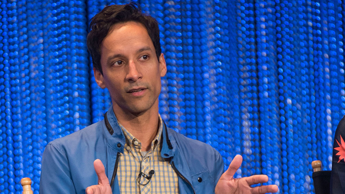 Actor Danny Pudi (AFP Photo /  Valerie Macon)