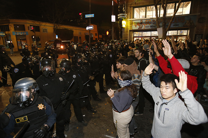 issue of police brutality against minorities For instance, a research question that covers the topic on police brutality and victims involved would be: r1 - are police more likely to use excessive force against the racial minorities compared to the whites.