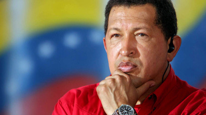 Hugo Chavez (AFP Photo / Prensa Miraflores - Marcelo Garcia)