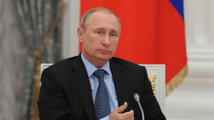 Russia's President Vladimir Putin (RIA Novosti/Michael Klimentyev)