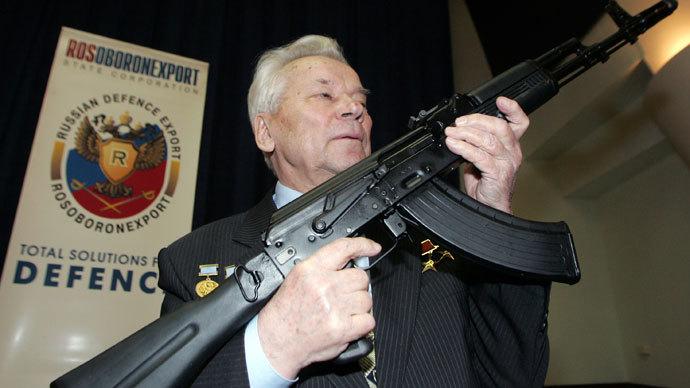 inventor of ak 47 rifle mikhail kalashnikov dies at 94 rt news. Black Bedroom Furniture Sets. Home Design Ideas