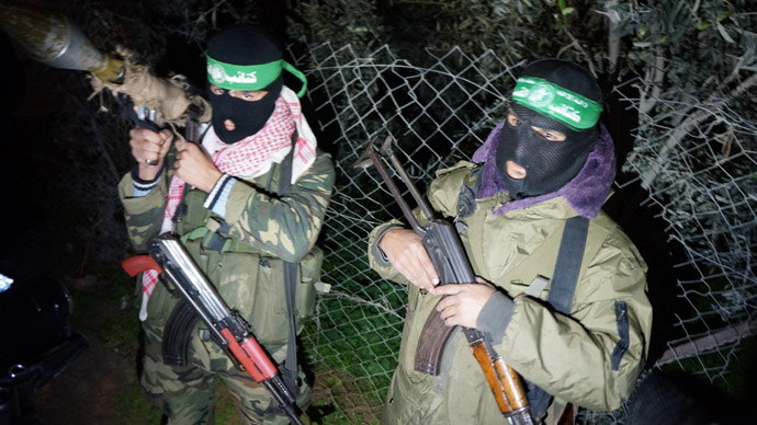 Gaza's night guard: Stalking with Qassam fighters (RT Photo)