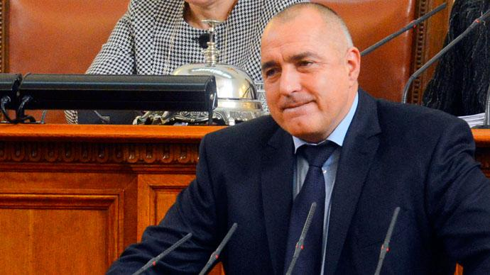 Bulgarian Prime Minister Boiko Borisov speaks in the Parliament in Sofia.(Reuters / Julia Lazarova)
