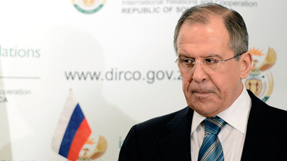 Russian Foreign Minister Sergei Lavrov.(AFP Photo / Stephane De Sakutin)