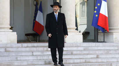 The Great Rabbi of France Gilles Bernheim.(AFP Photo / Jacques Demarthon)