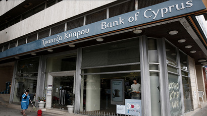 No bail-in, no bailout? Eurozone mulls rescue package for Cyprus