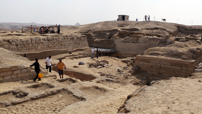 3,000-year-old pyramid of Pharaoh's adviser discovered in Luxor