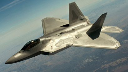 A F-22 Raptor fighter jet (Reuters / U.S. Air Force / Staff Sgt. Christopher Hubenthal / Handout)