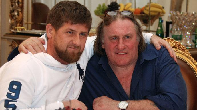 Depardieu eyes making 'big film' in Russia's Chechen Republic