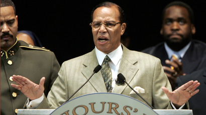 Nation of Islam leader Louis Farrakhan. (Reuters / Rebecca Cook)