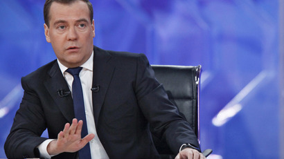 Dmitry Medvedev (AFP Photo / RIA-Novosti / Pool / Dmitry Astakhov)