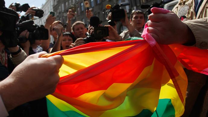 Russia's 'gay propaganda' bill fights discrimination - Lavrov
