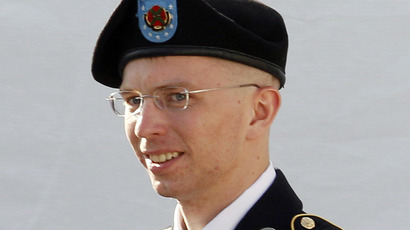 Army Private First Class Bradley Manning (Reuters/Jose Luis Magana)