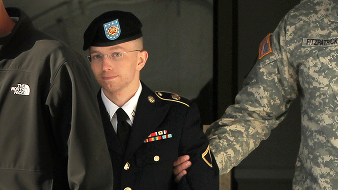 Bradley Manning. (AFP Photo / Alex Wong)