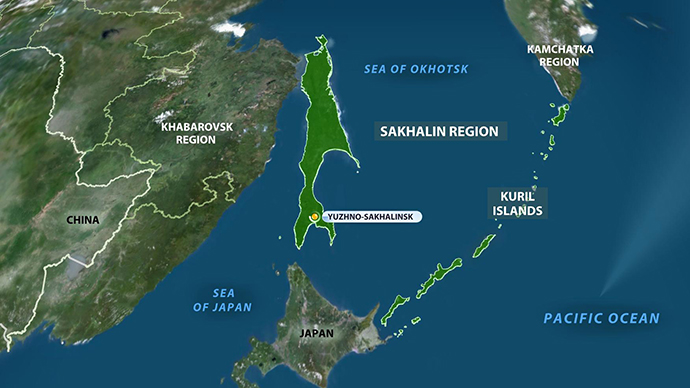 6.9 magnitude earthquake strikes off Kuril Islands, eastern Russia