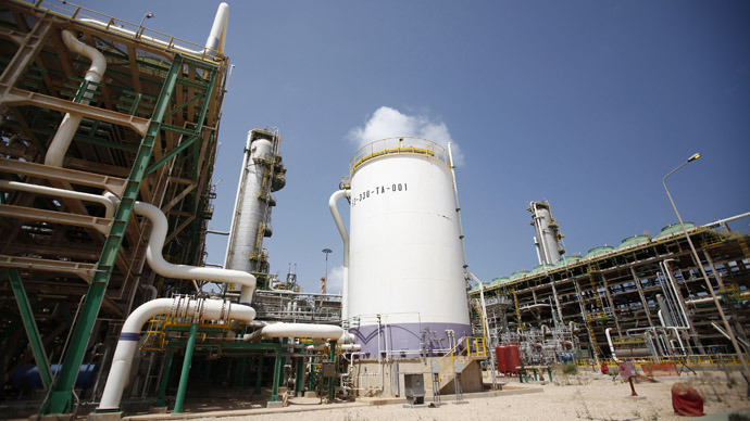 A view of the Mellitah Oil and Gas complex during a handover ceremony in Mellitah, 80 km west Tripoli September 6, 2011 (Reuters/Zohra Bensemra)
