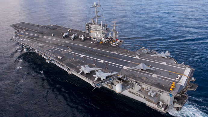 USS Harry S. Truman (CVN 75) (AFP Photo / US Navy)