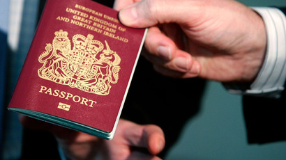 British biometric European Union passport (AFP Photo/Alex Wong/Getty Images)