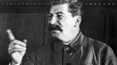 Picture dated probably in 1930s in Moscow of Yossif Vissarionovitch Dzhugashvili known as Joseph Stalin (AFP Photo)