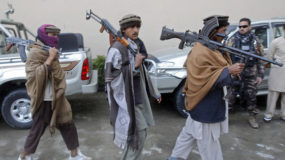 Members of the Taliban (Reuters/Parwiz)