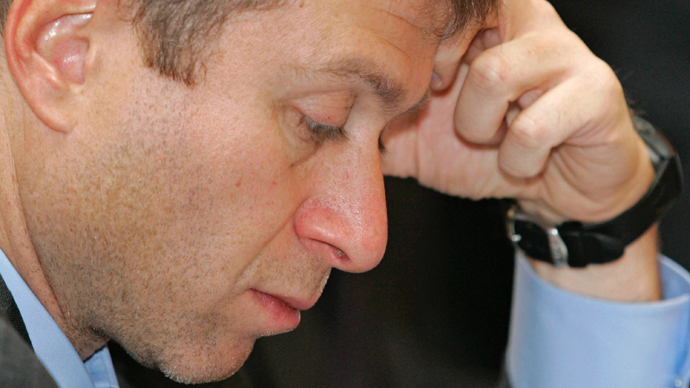 Abramovich falls off Forbes Rich List