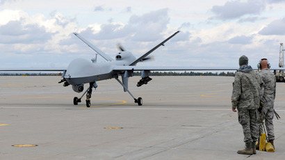U.S. Air Force MQ-9 Reaper unmanned aerial vehicle (Reuters / Staff Sgt. Ricky Best)