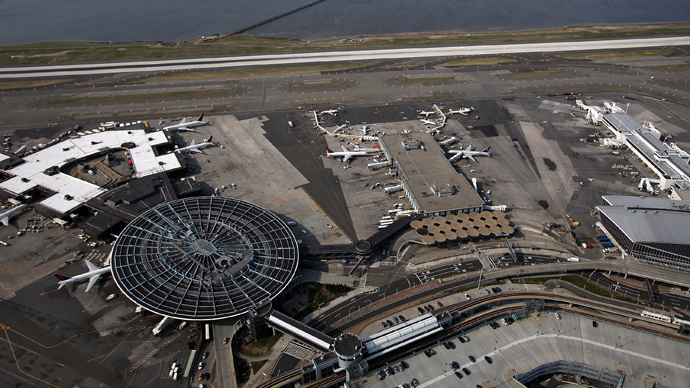 An aerial view of John F. Kennedy Airport (Spencer Platt / Getty Images / AFP)