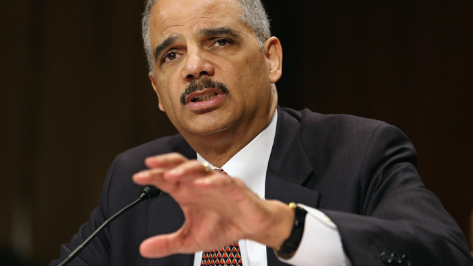 Eric Holder (Chip Somodevilla / Getty Images / AFP)