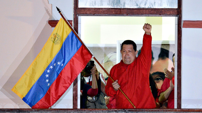 Hugo Chavez (AFP Photo / Juan Baretto)