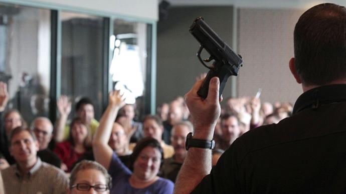 Georgia town considers mandatory gun ownership