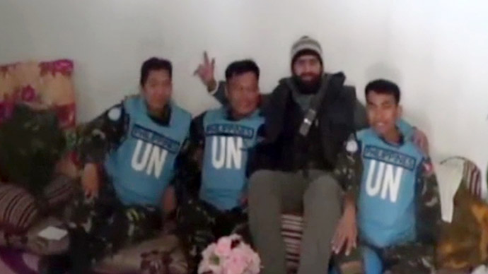 Captured UN peacekeepers released, crossed into Jordan - UN envoy