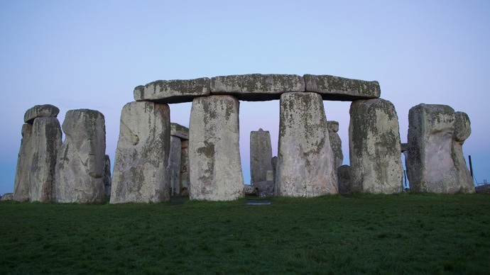 The prehistoric monument of Stonehenge, a UNESCO World Heritage Site, on Salisbury Plain in Wiltshire, in central southern England (AFP Photo / Andrew Cowie)