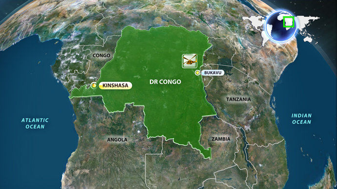 Four feared dead as piece of missing UN helicopter found in DR Congo
