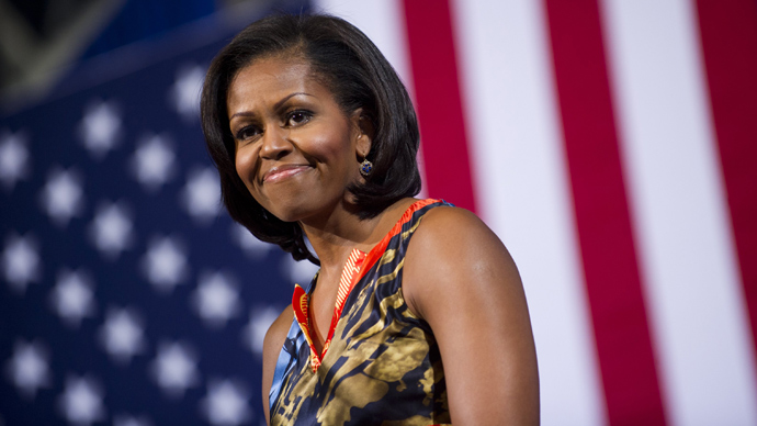 US First Lady Michelle Obama (AFP Photo / Saul Loeb)