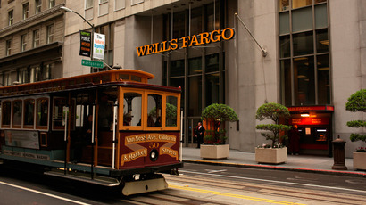 The Wells Fargo Bank headquarters in the Financial District in San Francisco, California (Reuters / Robert Galbraith)
