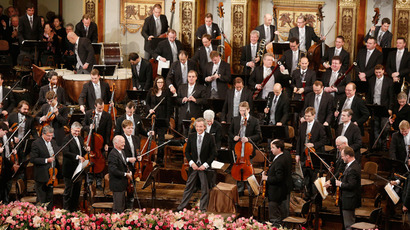 The Vienna Philharmonic Orchestra (AFP Photo / Dieter Nagl)