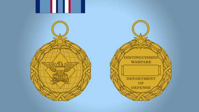 The Distinguished Warfare Medal