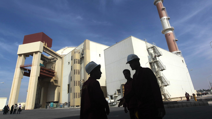 Bushehr nuclear power plant in southern Iran (AFP Photo / Majid Asgaripour)