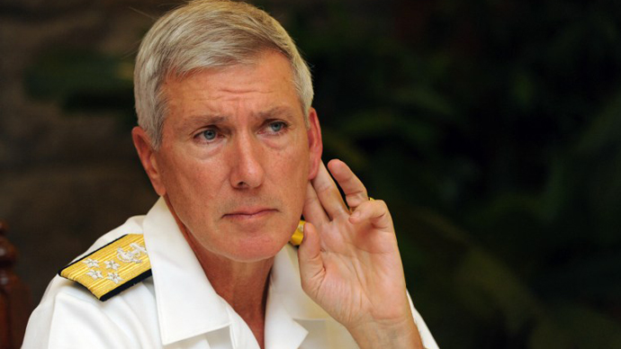 US Pacific Command Commander Admiral Samuel J Locklear III. (AFP Photo / Jay Directo)