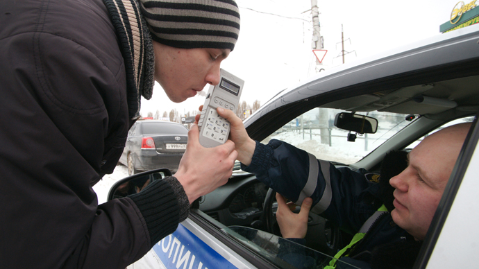 Russia's Duma passes tough law on drunk-driving