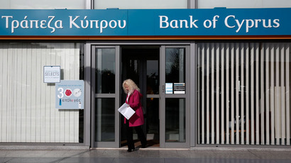 Crisis Bailout Backfires: Depositors fear loss of savings in Cyprus debt payoff