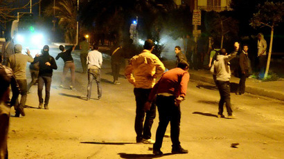 Molotovs, stones and birdshot: Protests turn violent in Egypt
