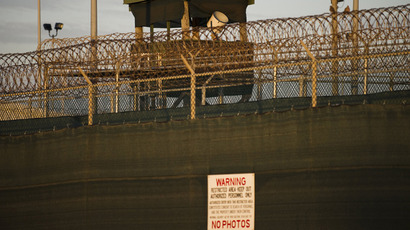 US military admits three Gitmo hunger-strikers hospitalized, at least 10 force-fed