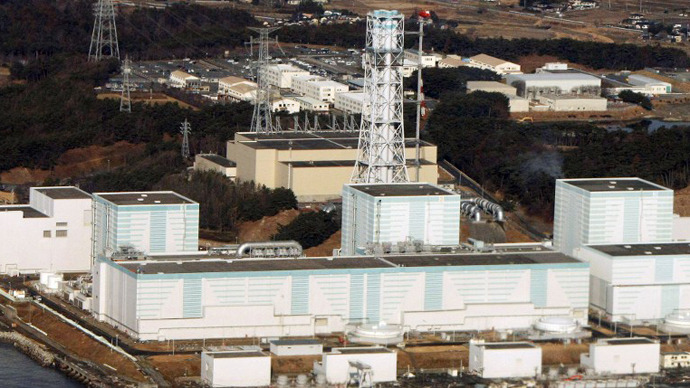 Fukushima nuclear power plant in the Futaba, Fukushima prefecture. (AFP Photo / Jiji Press)