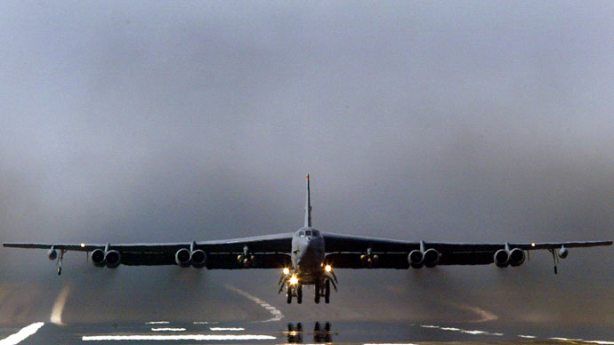 US B-52s imitate nuclear bombing of North Korea