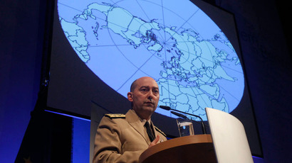 NATO Supreme Allied Commander Europe (SACEUR) U.S. Navy Admiral James Stavridis.(Reuters / Tobias Schwarz)