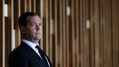 Russia's Prime Minister Dmitry Medvedev.(Reuters / Ueslei Marcelino)
